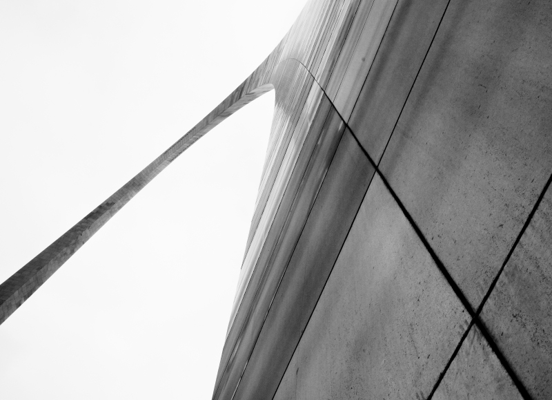 St Louis Arch May 2011